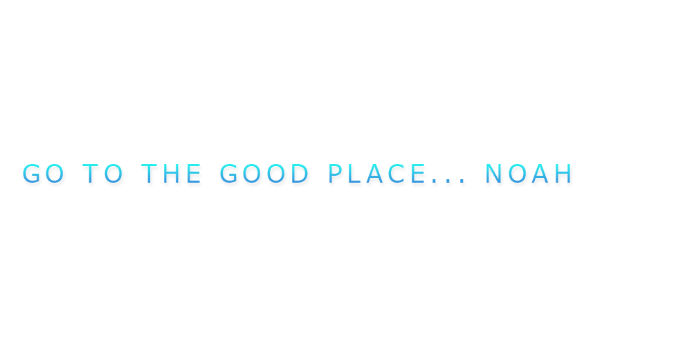GO TO THE GOOD PLACE